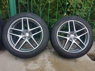 Разноширокие диски Mercedes 275/45 - 315/40 R21