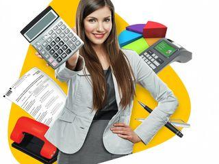 Бухгалтер Contabil ,малым и средним предприятиям. Бухгалтерский учет