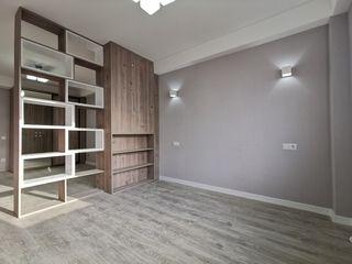 Bloc nou, 1 Dormitor + Living, et. 7/10, de mijloc, 46 m.p, Buiucani, Reparat