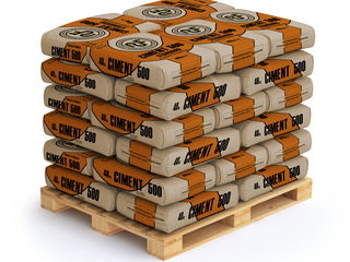 Ciment în saci marca 500 standard