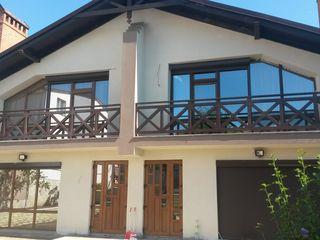 Balustrade din lemn  pu terase, balcoane. Ограждения из дерева для терасс и балконов.