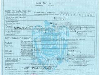 Acte ro , permis, buletin, pasaport