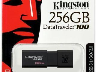 Kingston 256GB 100 G3 USB 3.0 Data Traveler (DT100G3/256GB)