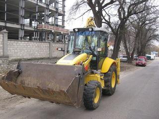 Servicii cu  buldoexcavato si  zil se poate transfer