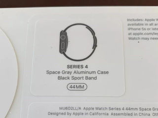 Apple Watch Series 4 44mm space gray new