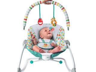 Детское кресло-качалка Bright Starts Winnie The Pooh. Возможность покупки в кредит.