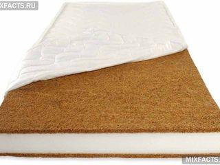 Продам матрасик для детской кроватки на какосовой основе 1,20х60х9см - 400 лей