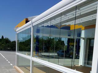 Sistem geam-balcon   Система безрамного остекления для балкона