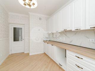 Apartament 2 camere+living, reparație euro, Ex-Factor Buiucani 65900 €
