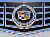 Значок решотки на Cadillac CTS 4