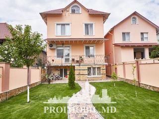 Telecentru! casă 3 nivele, 5 camere separate, euroreparație! 280 mp + 4 ari!