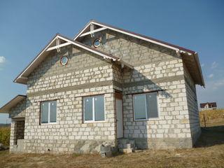 Vînd casă nefinisată, 2 nivele, Ialoveni!!!