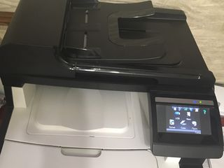 "HP Color  "" LaserJet Pro CM1415fnw color MFP "" - multifunction printer  aproape nou"