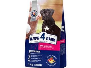 Kлуб 4 лапы  , корм для собак c  доставкой по Кишиневу и Молдове.