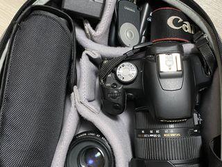 Canon 500D с объективами