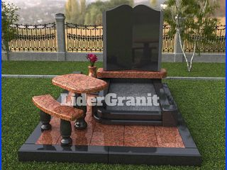 SRL LiderGranit propune monument gata din granit doar 3999 lei.