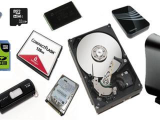 Восстановление данных с жесткого диска, флешки.