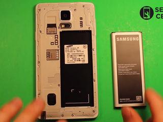 Samsung Galaxy Note 4 Edge (N915)  Nu ține bateria telefonului? Noi ți-o schimbăm foarte ușor!