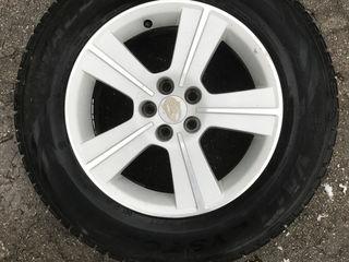 Продам диски с резиной на Subaru Forester . R16
