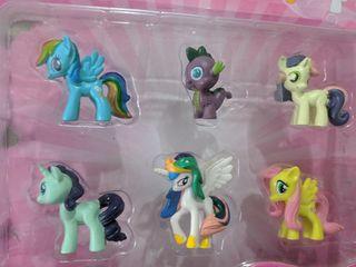 """Набор """"Пони"""" My little pony, 6 шт"""