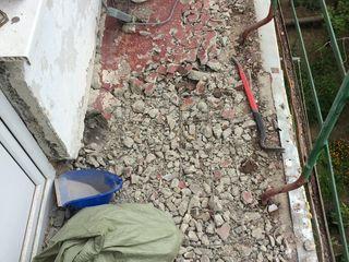 Балконы, зачистка демонтаж, перепланировка балкона, кладка балкона под окна пвх, по цене договоримся