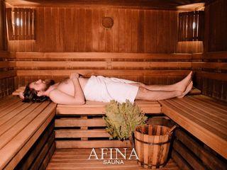 Sauna cu 3 bazine - sauna Afina