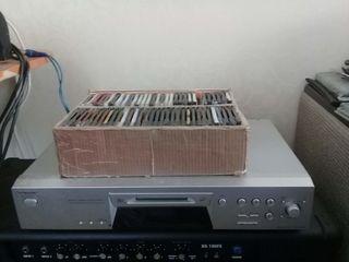 "Минидиск ""Sony"" 420 + пульт + 62 дискеты"