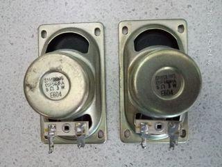 Динамики samsung 3w 8ohm (пара) размер по контру 30*90 мм