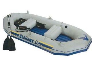 Трехместная надувная лодка Intex Seahawk II Set
