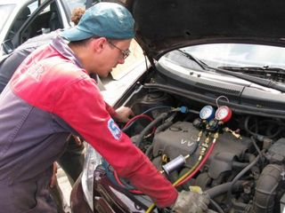 Диагностика и заправка кондиционера автомобиля. На Буюканах!!!