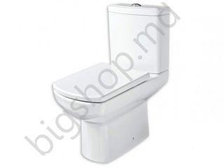 Vas WC compact Guralvit Nero (evac.later) Cumpara in credit!