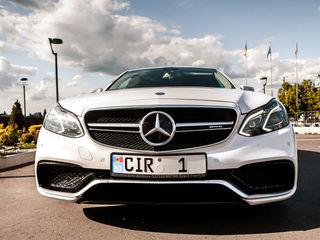 Reducere/скидка! luna septembrie: Mercedes E Class E63 AMG - 79 €/zi(день) & 15 €/ora(час)