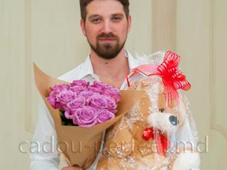 Доставка цветов и плюшевых мишек премиального качества в любую точку Молдовы