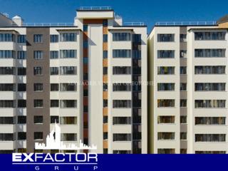 Exfactor Grup - Buiucani, 1 cameră 50 m2 et. 3 de la 590 € m2, prețul 29.500 € cu prima rată 8.850 €