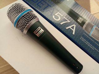 Microfoane noi!!! Shure Bbeta 57A---50Hz-16kHz