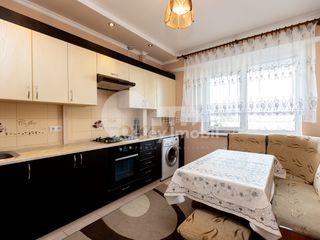 Apartament cu 2 camere, mobilat și utilat, Buiucani, 280 € !