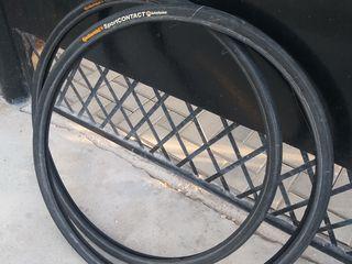 Две пары велосипедных шин