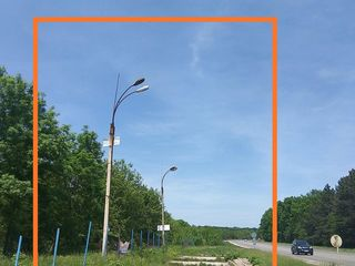 Vînd teren 10 ari destinație constructii traseu internațional Orhei-Chișinău.