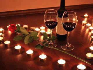 Укрепи отношения со второй половинкой в романтическом вечере  599 lei,почасова 150 lei