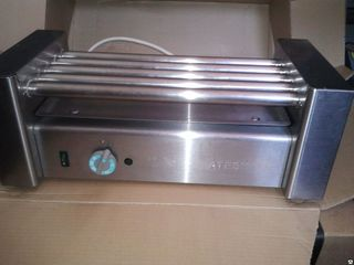 Гриль роликовый для сосисок atesy roler grill  150е