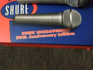 Продам микрофон shure SM 58 шнуровой