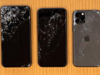Apple Ecranul este crăpat – adă-l la reparat!