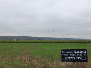 Se Vinde Teren Prima Linie - 80 ari pe traseul R1 Chisinau-Ungheni, Cojusna, Straseni