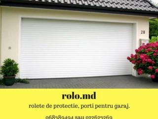 Rolete Moldova, Porti pentru garaj automate! Livrare-instalare-gratuit! rolo.md