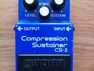 Винтажный Boss CS-2 Compressor