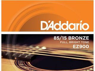 Corzi din bronz otel pentru chitara acustica  daddario ez900