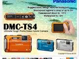 12,1 МП водонепроницаемая и ударопрочная камера Panasonic Lumix DMC-FT4(TS3) новая в упаковке