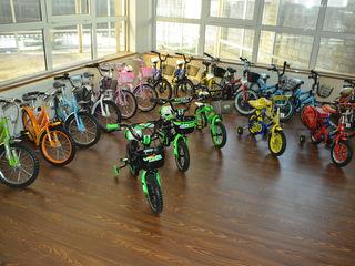 Biciclete pentru copii de la 2,3,4,5,6,7,8,9  ani de diferite marimi ,12,14,16,18,20, pentru copii.