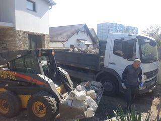 Curatare terenuri, ograzi, evacuarea gunoiului