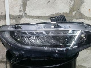 Honda Civic X  комплектация Touring. Передние  LED  Фары DEPO .